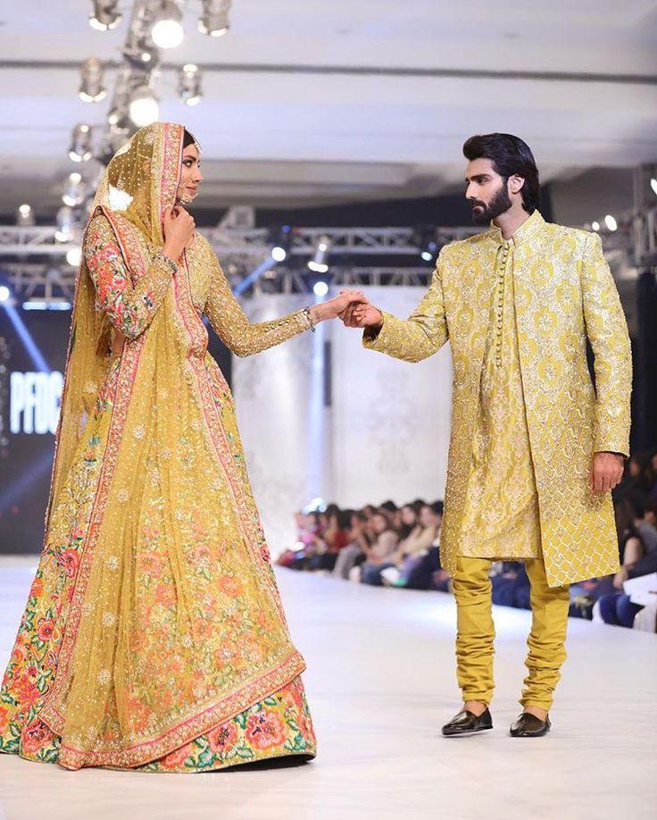 Mehndi Traditional Dresses : Nomi ansari mehndi dresses pinterest pakistani