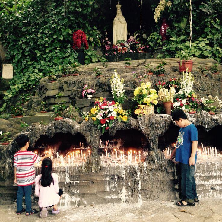 Gua Maria Cisantana Kuningan Jawa Barat Indonesia #pilgrimage
