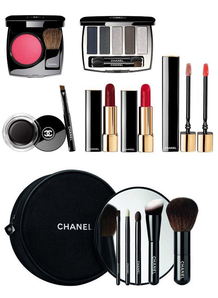 Промежуточная лимитированная коллекция макияжа Chanel. Вторая для Лючии Пика.