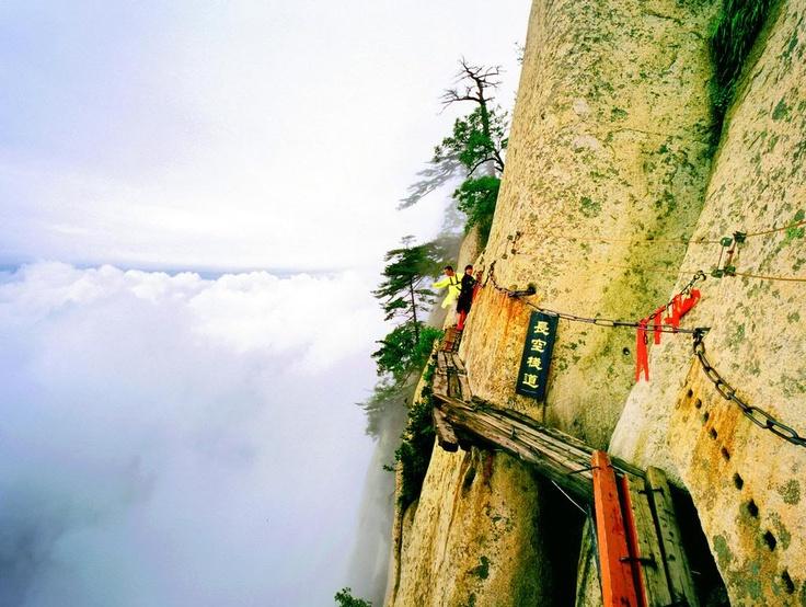 Mt. Hua, Shaanxi, China