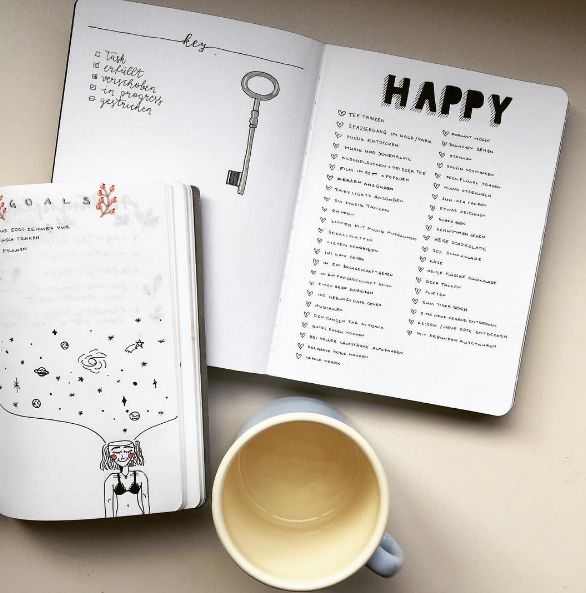 Keep a list of things that make you happy. | 21 Little Everyday Changes To Make Your 2017 Even Better