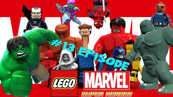 Lego Marvel 13 - New York part 5 - Magnetic Personality Games Full Movie