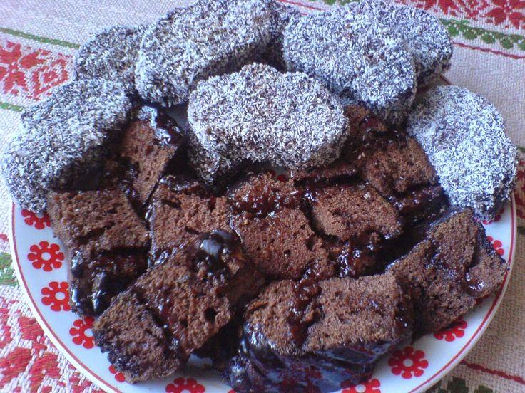 Paprikás krumpli: Csokis-kókuszos és lekváros brownie