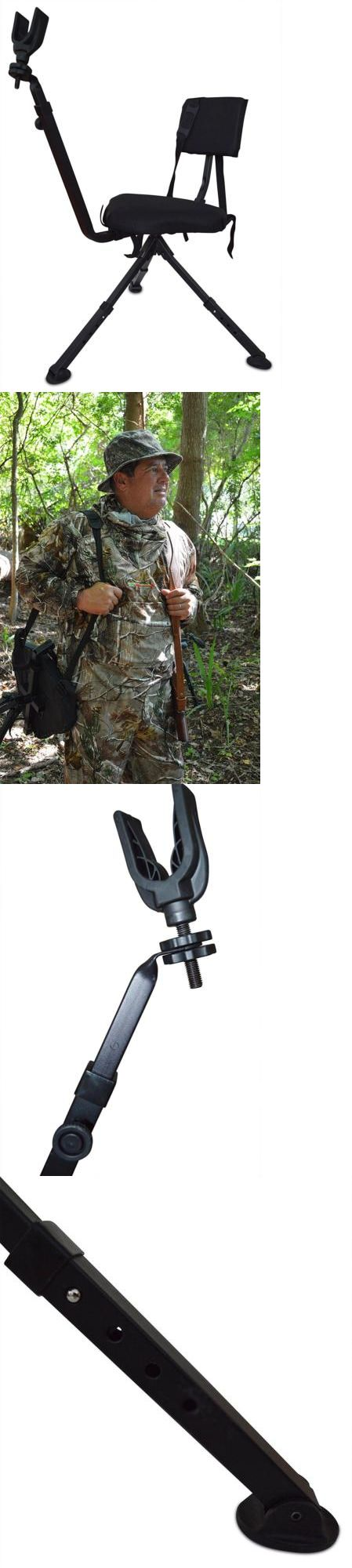 Bow hunting chair - Seats And Chairs 52507 Benchmaster Ground Hunting And Shooting Chair Bmgbhsc Blind With Rifle