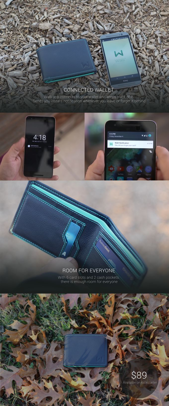 Walli – The Smart Wallet by Walli Wearables — Kickstarter…