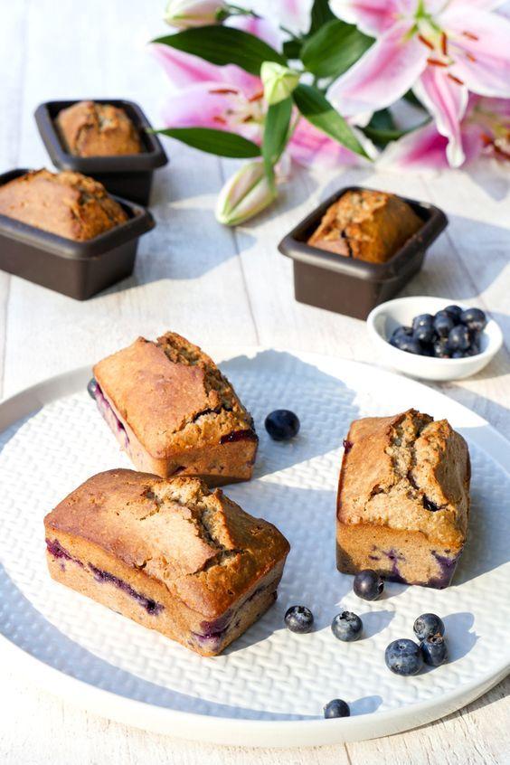 Gesunder Kuchen Mit Heidelbeeren Und Chiasamen Rezept Suchtigmacher