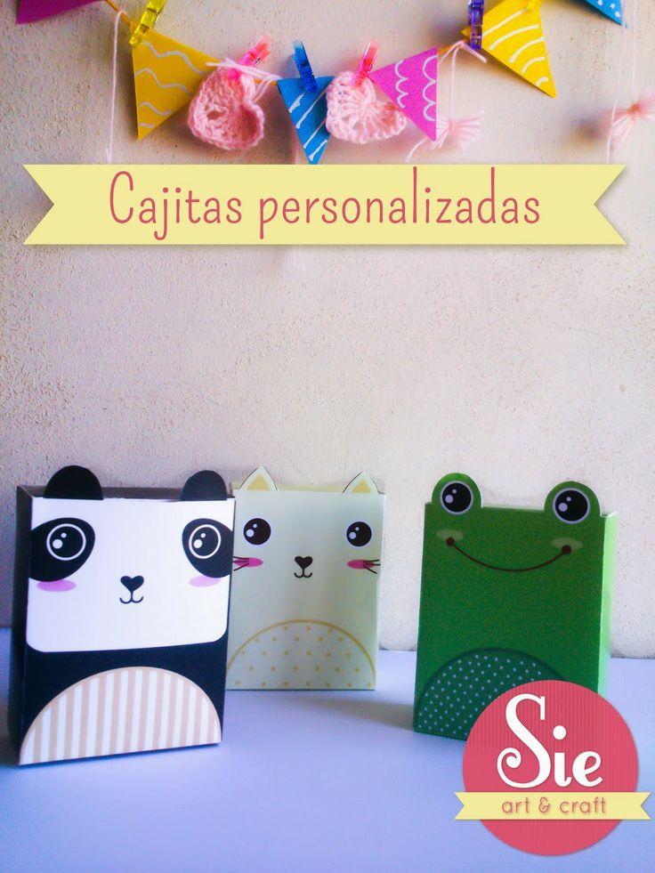 Sie - Art & Craft: Cajitas ♥