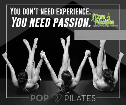 Pop Pilates with Deb at 7 tonight. Sculpt your whole body lean while having fun. #poppilates #sculpt #core #passion #fun