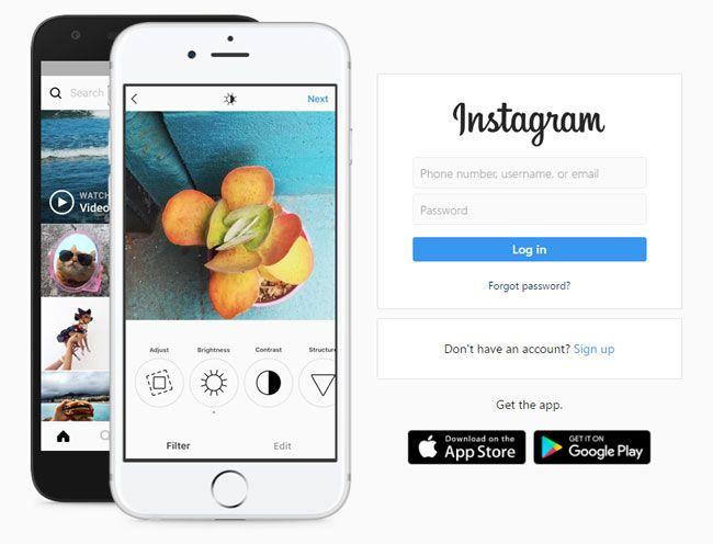 Instagram: Iniciar sesión y descargar gratis