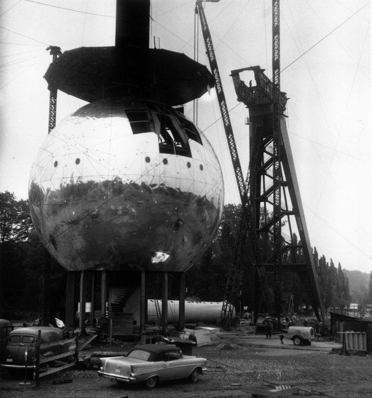 Atomium, Brussels, Belgium (completed in 1958)
