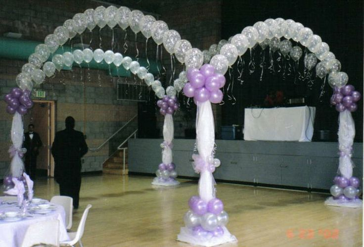 60 best images about decoraciones e ideas para for Balloon decoration ideas for a quinceanera