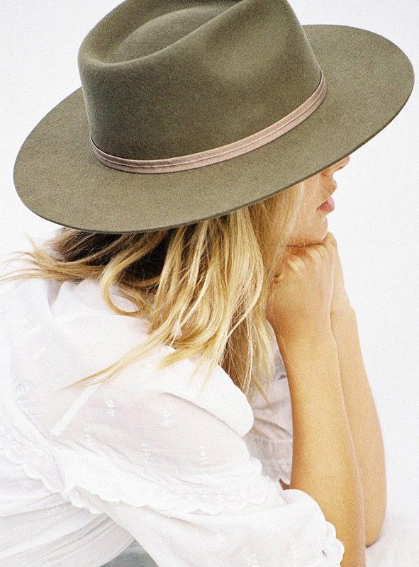 1101feb2466a1 Lack+Of+Color+The+Zulu+Fedora+Moss+-+The+Zulu+Fedora+in+Moss+by+Lack+Of+ Color Vintage+classic+fedora 100%+soft+Australian+wool ...