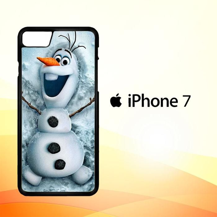 Disney frozen, olaf funny iPhone 7 Case
