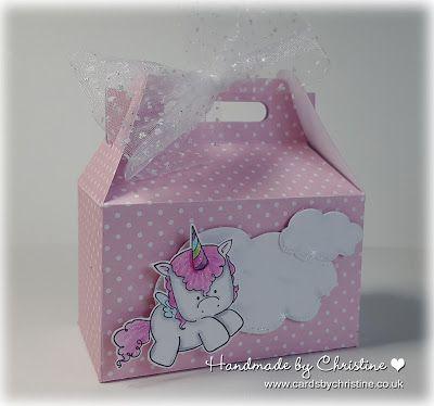 Stamping Bella Unicorns - gift box
