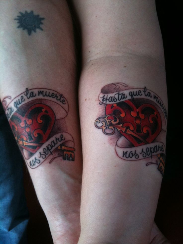 infinity tattoos couples