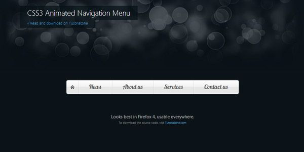 css3-animated-navigation-menu