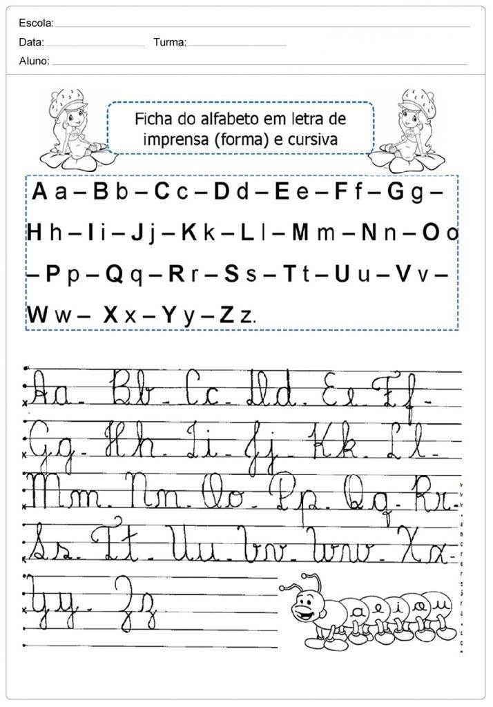 Alfabeto Pontilhado Atividades Com O Alfabeto Atividades Com