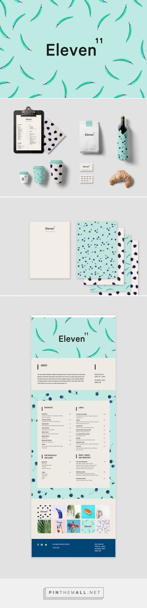 Eleven11 Branding by Soon Co.                                                                                                                                                                                 Más