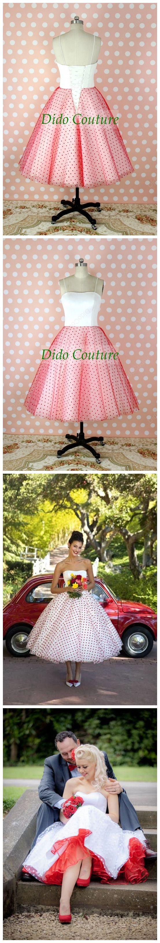 Mejores 30 imágenes de Tea Length Wedding Dresses en Pinterest | Té ...