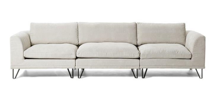 Beige soffa 60/70-tal från Mio