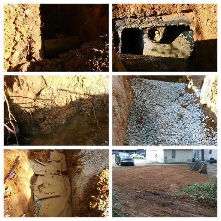 In Milton, North Fulton County, Action Septic Tank Service installed a French drain to repair a drainfield. Call 770-922-1434 and visit www.actionseptictankservice.com.