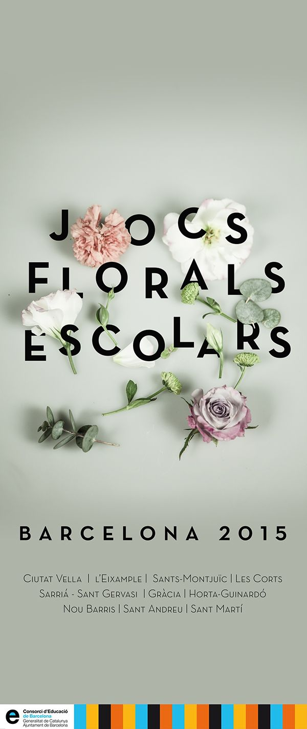 Poster design trends 2015 - 50 Best Letters Flowers Images On Pinterest Graphics Flower Typography And Poster