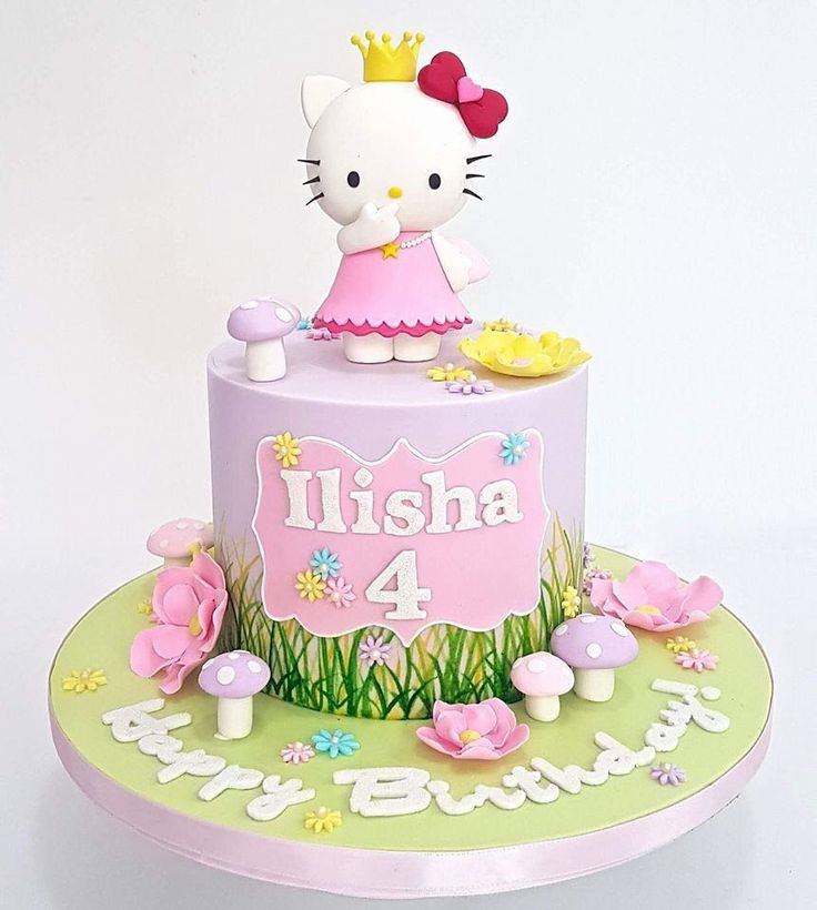 198 best Hello Kitty Cake images on Pinterest Hello kitty cake