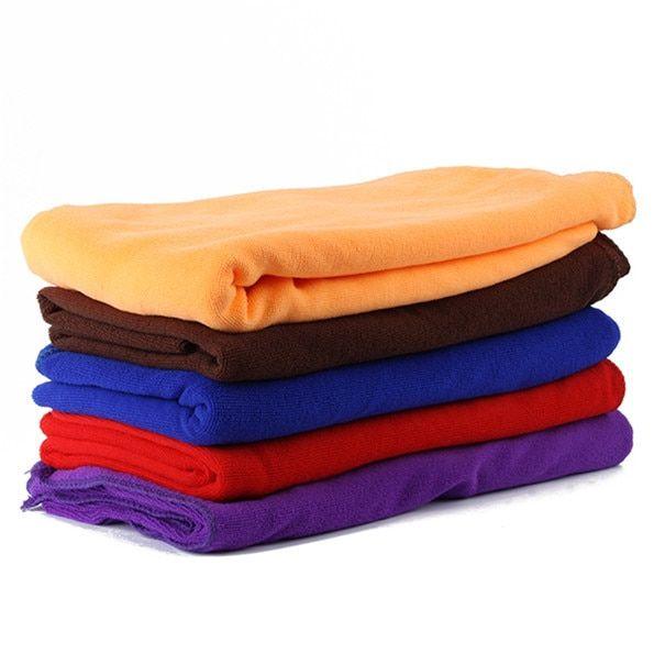 80 140cm Functional Soft Absorbent Microfiber Beach Bath Towel
