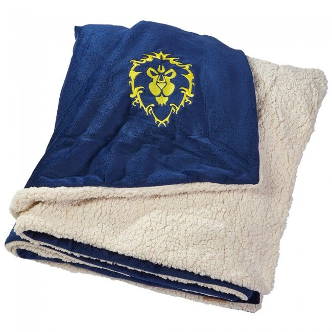 Hearthstone Throw Pillow : World of Warcraft Alliance Logo Blanket blankets Pinterest Logos, World and World of warcraft
