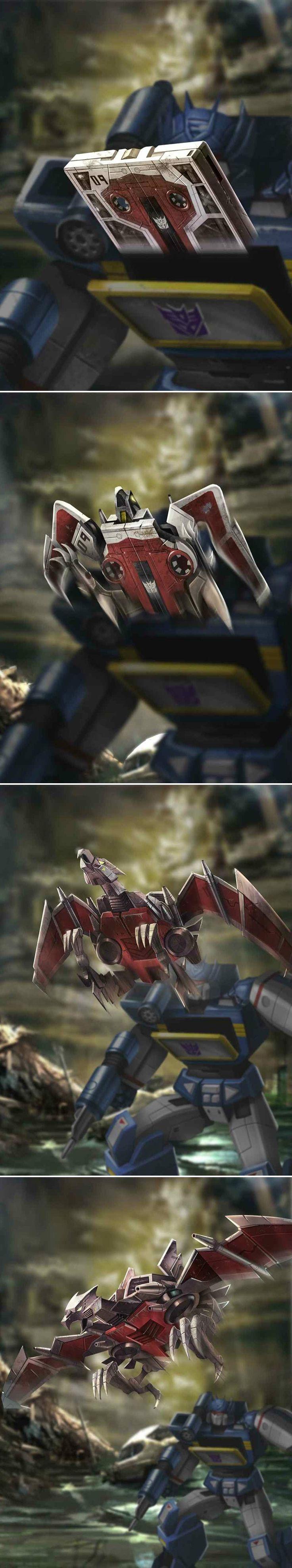 Transformers - Legends - Decepticon Lazerbeak  by manbu1977 on deviantART