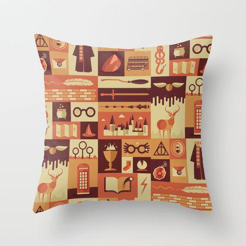 Accio Items Throw Pillow