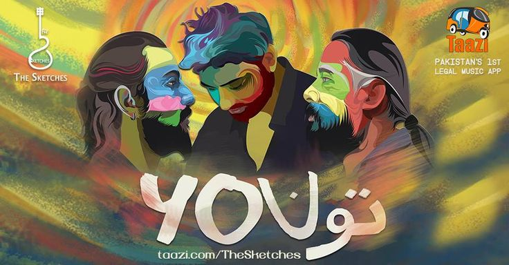 THE SKETCHES! will take you to their epic journey from Jamshoro to santa fe mexico. #Tu is an exhilarating piece of art. Stream & Download it on Taazi now:http://taazi.com/tu-album-by-the-sketches #TheSKetches #Sufi #Folk #Rock #You #NewAlbum #Love #Divine