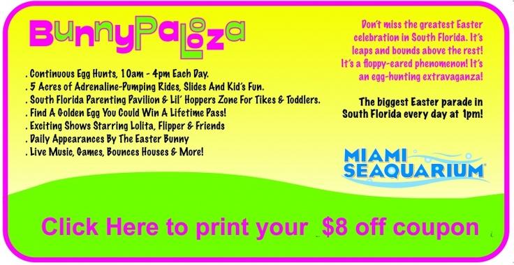 Miami seaquarium discount coupons