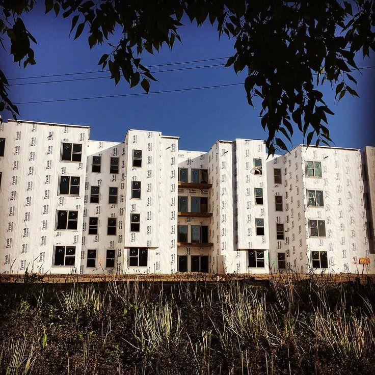Large Windsor installation: StadiumView Suites, Ames, IA.  #WindsorSighting #windsorwindows #multifamilyhousing