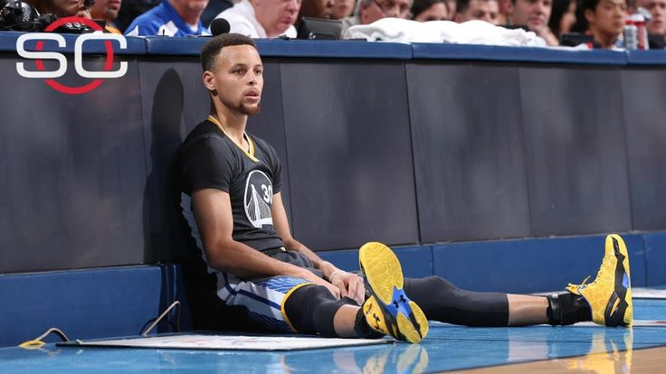 『驚呆』萌神Curry腳裸扭傷次數  一般人絕對受不了 Stephen Curry Ankle Sprain