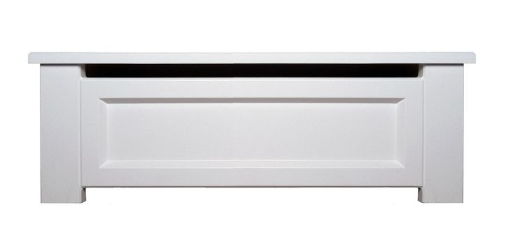 We manufacture the only one-size-fits-most perforated steel baseboard heater cover that easily slips over top of your existing hydronic baseboard heaters. Our classic design will update your old covers in only a few minutes and is sure to match all types of room decor.
