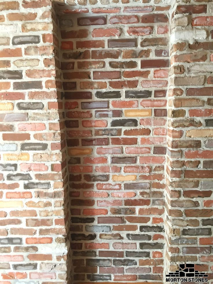 316 best brick veneer for the home images on pinterest for Rustic brick veneer