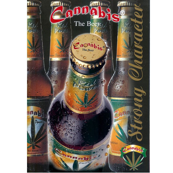 Eurobräu GmbH  Cannabis Red Power The Beer. Strong Character - Powerfull people