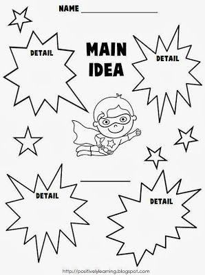 Main idea freebies