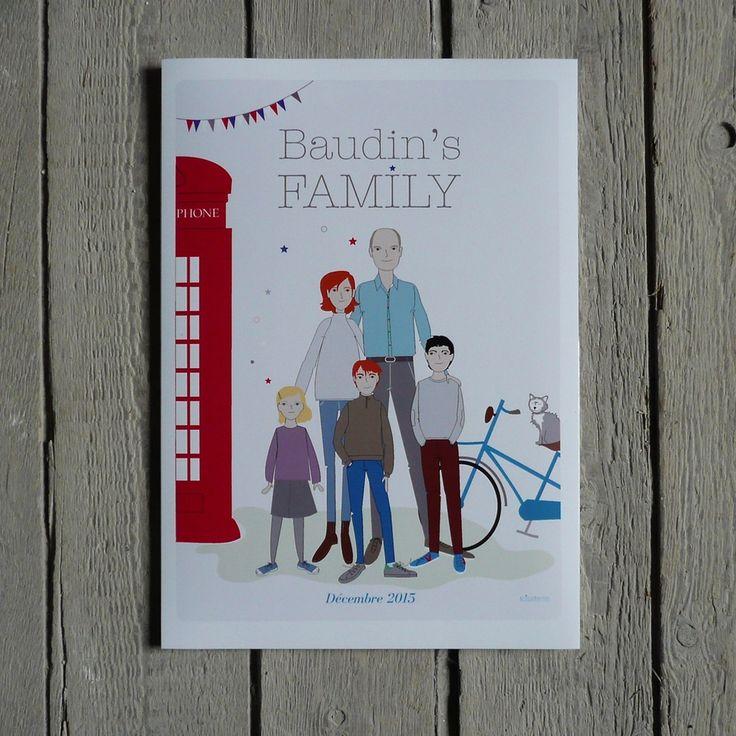 Affiche jolie family plus d 39 id es chambre petit gar on - Affiche chambre garcon ...