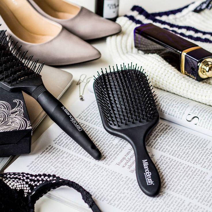 Style your hair to perfection. You're just too good to have bad hair days  #availablesoon #milanobrush #professional #haircare #hairstylist #fashion #style #black #hairbrush #brush #beauty #hair #flatlay  #christmastime #christmas #instastyle #shopaholic #gooddeal #photo #instagood #instadaily #photography #style #fashion