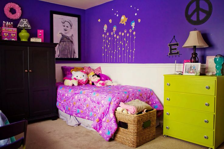 Wp Content Uploads 2014 09 Astonishing Little Girl Bedroom With Purple