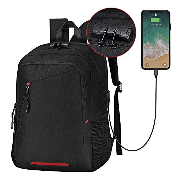 3b4ac8722e19 OMORC Business Laptop Backpack, Anti Theft Waterproof Travel ...