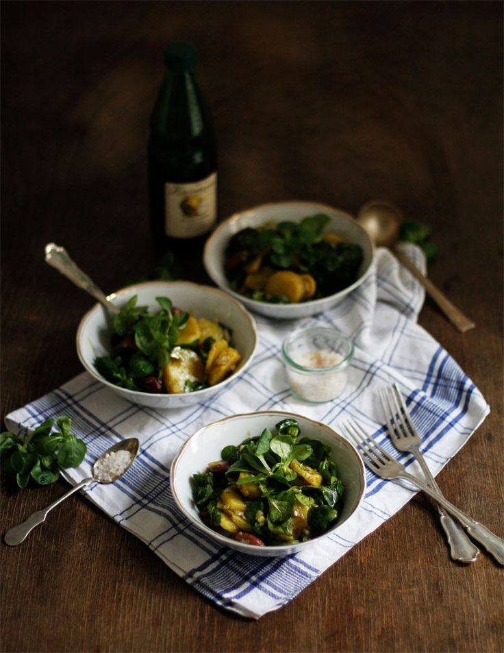 we love handmade | Food: Eat Seasonal – Steirischer Erdäpfel-Vogerlsalat mit Käferbohnen | http://welovehandmade.at