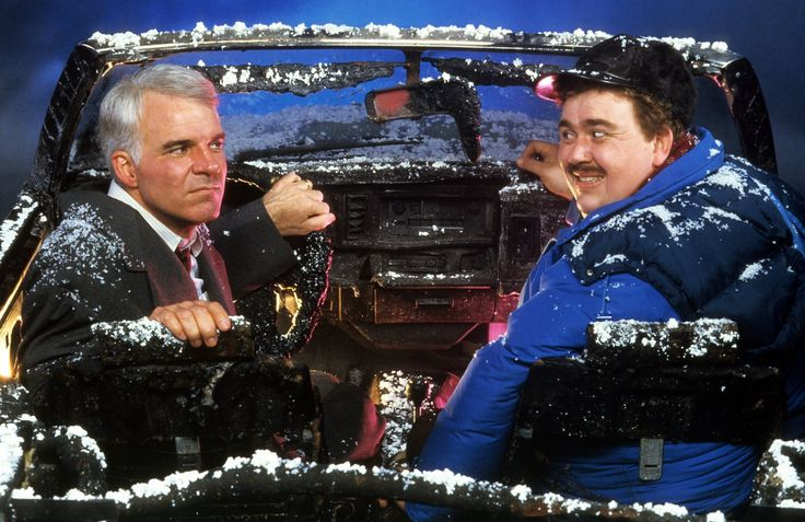 Steve Martin and John Candy in Planes, Trains