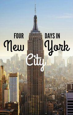How To Spend Four Days in New York City — #Travel #NYC via @nomadicmatt