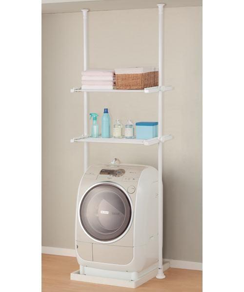 つっぱり洗濯機ラック(ソルヴィ) | ニトリ公式通販 家具・インテリア ...