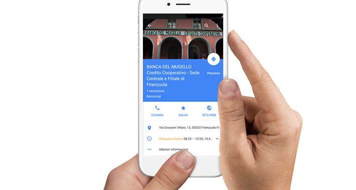 Nuovo progetto Web per Banca del Mugello Credito Cooperativo, rivendicazione di 11 schede Google My Business