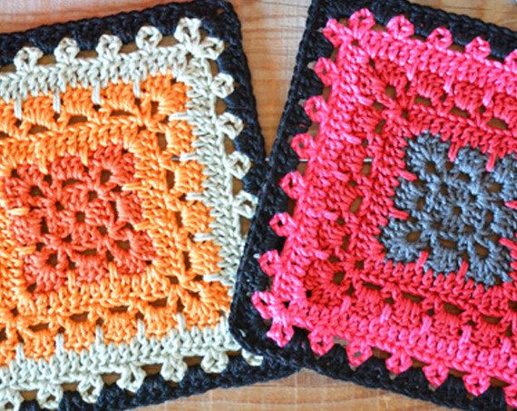 The BOHO Square A 9 rounds square, made of 4 different colours.   PLEASE NOTE This listing is for a PDF crochet pattern, you will need Adobe Reader to be able to view your pattern.  This BOHO Square pattern is a step-by-step tutorial in English (US terms) completed with pictures. Following this pattern, youll be able to crochet the square you see in the pictures.  The list with all the stitches used is in this pattern is given in the beginning of the file.  WHAT DO YOU NEED Yarn: 4 colours…