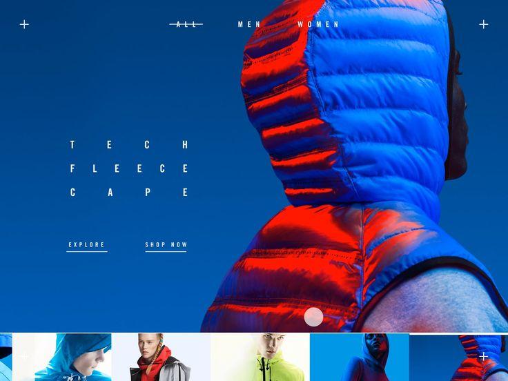 Nike Tech Pack UI Animation